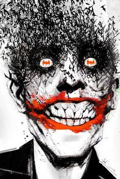 Licenses Products DC Comics Batman Joker Birdface with Batman Eyes Sticker: C&D Visionary is a manufacturer and wholesale distributor for licensed entertainment merchandise and original artworks. DC Comics Batman Joker Birdface With Batman Eyes Sticker. Batman Poster, Batman Comics, Le Joker Batman, Batman Detective Comics, Bd Comics, Joker And Harley Quinn, Spiderman, Batman Art, Joker Comic