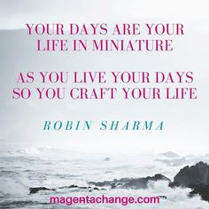 Another of my favourite quotes from the #leadership guru that is Robin Sharma!