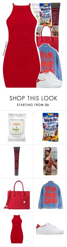 """""""Viva Avant Garde"""" by melanin-poppin16 ❤ liked on Polyvore featuring Burt's Bees, Lane Bryant, Michael Kors, Jeremy Scott and Givenchy"""
