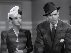 Ruth Hussey and James Stewart
