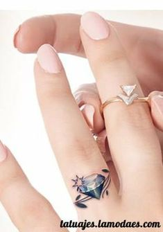25 Awesome Wedding Ring Tattoos Wedding band tattoo Band tattoo