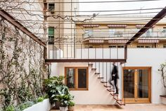 Completed in 2017 in Barcelona, Spain. Images by Adrià Goula. . This early XX century patio-apartment presents the opportunity to reformulate the dwelling's conditions, adapted to Mediterranean climate, in the...