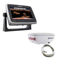 Raymarine a78 Wi-Fi Radar Pack w/CPT-100 Transducer - https://www.boatpartsforless.com/shop/raymarine-a78-wi-fi-radar-pack-wcpt-100-transducer/