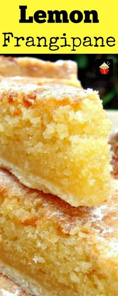 Lemon Frangipane. This is a really nice coffee time cake to make. Goes great with a nice cup of tea! Or you can have as a dessert, warm or cold with a squirt of whipped cream or like me, a blob of vanilla ice cream! It's really yummy! Delicious! | http://Lovefoodies.com