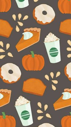 Pumpkin Spice wallpaper by thehatter2 - c4 - Free on ZEDGE™