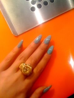long acrylic oval nails - Google Search