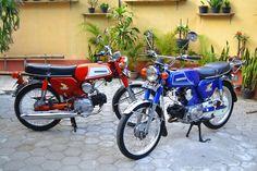 Honda benly S!!)