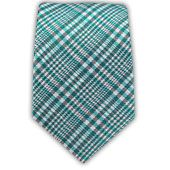 - Twilight Plaid - Turquoise (Linen Skinny) Ties...$15 @ The Tie Bar
