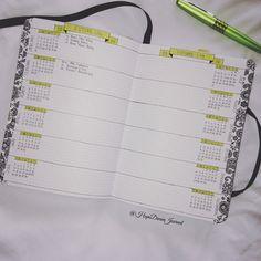 Bullet Journal: My January Setup | Hope. Dream. Journal