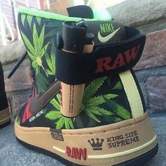 RAW Nike Air Force Ones