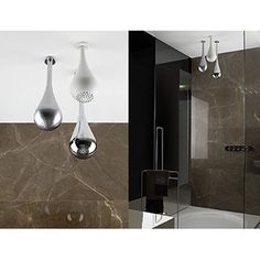 """""""Gessi Goccia Collection showerheads. Goccia won the Designer award for most innovative product of the year in 2011."""