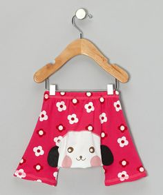 1b91ad41381a6 Take a look at this Red Flower Dog Shorts - Infant by KAZOO on #zulily