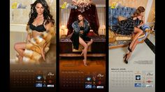 Pages from Miss Russian Universe 2016 Calendar