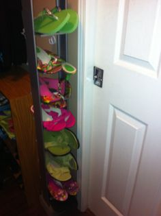 CD Tower Shoe Rack Repurpose Project . Great Use For Old, Unused Silver  Metal CD