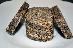 Fotorecept: RAW makové koláčiky