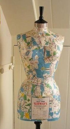 How to Decoupage a Mannequin part 1  To read the full article, click here... http://blog.mannequinmadness.com/2017/06/decoupage-mannequin-part-1/