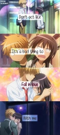 Kaichou-wa maid-sama❤❤❤ I love this couple!!!