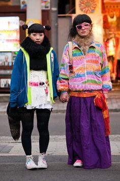 Japaneese street fashion