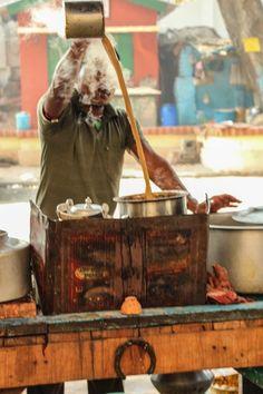 chai in India - tea