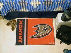 """Anaheim Ducks Uniform Inspired Starter Rug 19""""x30"""""""