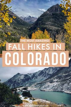 Fantastic Fall Hikes in Colorado You've Probably Never Heard of