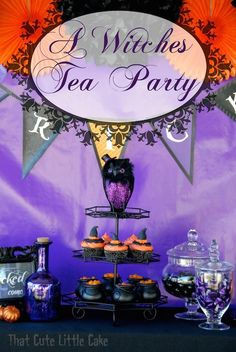 Halloween 2014: A Witches' Tea Party