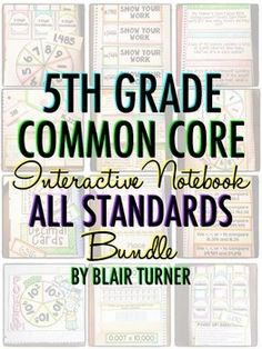 Interactive Notebooks: Tips, Tricks, and Why We Love Them Teaching 5th Grade, Fifth Grade Math, Teaching Tips, Teaching Math, Math 5, Interactive Math Journals, Math Notebooks, Math Classroom, Classroom Ideas