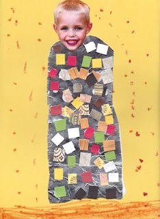 This is my favorite kids craft / fine art craft ever. EVER. So awesome . (for PreK)