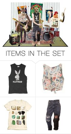 """I'm In a Band"" by apocalyptic-html ❤ liked on Polyvore featuring art"