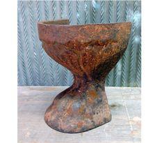 Vintage Cast Iron heavy duty Rusty Bath tub by TexomaMercantile