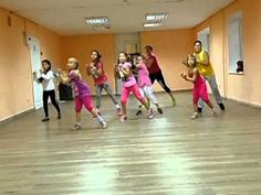 "Zumba kids ""Toca-toca"" - YouTube"