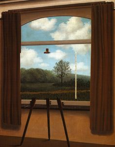 Magritte - La condition humaine 1933