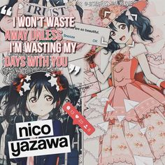 anime, love live, and yazawa nico resmi