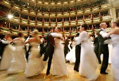 the winter balls in Vienna -- guess where I'm going to get my ballroom dancing fix?!