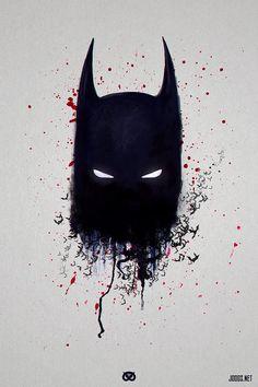 batman, by Joogz. Batman Artwork, Batman Wallpaper, Batman Painting, Bane Dark Knight, Illustration Batman, Joker Photos, Batman Tattoo, Quick Sketch, Buy Posters