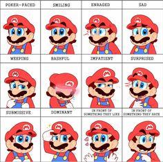 Expression meme (Mario) by TemmieSkyie on DeviantArt Super Mario All Stars, Super Mario And Luigi, Super Mario Art, Super Mario Brothers, Mario Bros., Mario Kart Memes, Yoshi, Mario Comics, Mario Fan Art