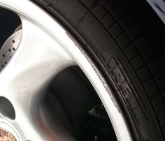 Home Guide to Wheel Scuff Repair