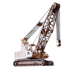PATTERNS & KITS :: Construction :: 115 - The Lattice Boom Crane -