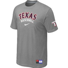 Texas Rangers L Grey Nike Short Sleeve Practice T-Shirt , shopping online $15.99 - www.vod158.com