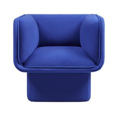 """The Block Armchair, designed by MUT Design for Missana, is part of the Block Collection, which combines trendy design, comfort and timeless style.  The collection is inspired by construction blocks games and the principle of """"opposites attract"""", the solidity and symmetry of the structures in contrast to the cocooning comfort of the seats. The Block collection includes an armchair, a 2-seater sofa and a 3-seater sofa, all of which are suitable for both contract projects and private dwellings."""
