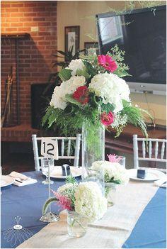 little miss lovely floral design // ocean city golf and yacht club wedding // nautical wedding