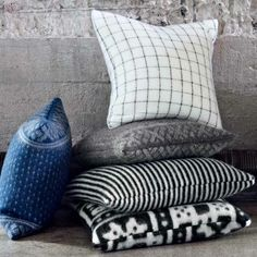 Røros Tweed Pillows - Lufina Wovens