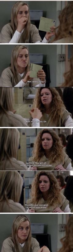 Piper and Nicky. Orange is the New Black Season 2