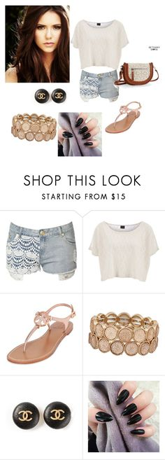 """""""..."""" by merimaa997 ❤ liked on Polyvore featuring beauty, Jane Norman, Pieces, Tory Burch, ALDO, Chanel and Aéropostale"""