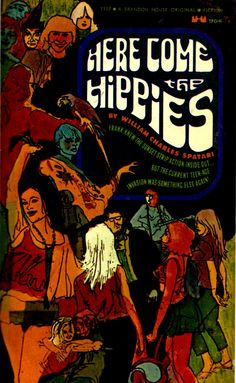 Flower Power: ~ Here Come the Hippies, Hippie Art, Hippie Style, Hippie Vibes, Mundo Hippie, Hippie Culture, Book Cover Art, Book Covers, Dark Horse, Pulp Fiction
