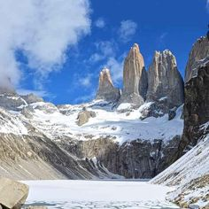 Psssst...#Winter is coming and the W Trek is now open in Wintertime!  #Landscape #Patagonia #Chile #TorresdelPaine #Hiking #Traveltheworld #SouthAmerica