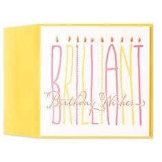 25 best make an impression images on pinterest greeting cards brilliant birthday wishes candelabra letterpress card m4hsunfo