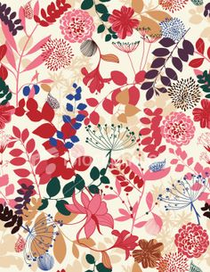 Retro Botanical Garden Royalty Free Stock Vector Art Illustration