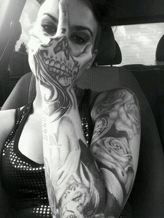 Very creative tattooing!