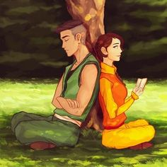 Kai and jinora grown up